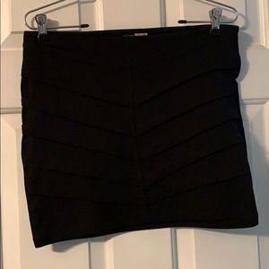 Black Mini skirt